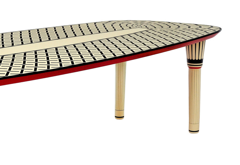 Aelita dining table scarlet splendour treniq 3