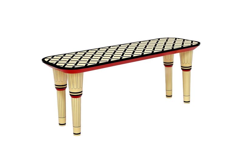Easy street bench scarlet splendour treniq 1