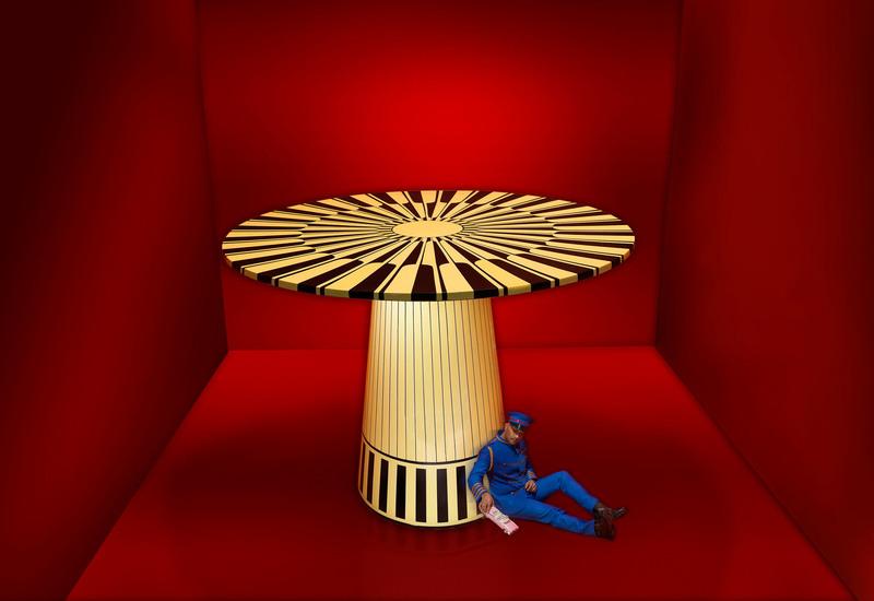 The circus revisited coffee table scarlet splendour treniq 4