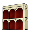 The count book shelf scarlet splendour treniq 3