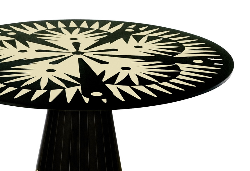 The metropolis dining table scarlet splendour treniq 2