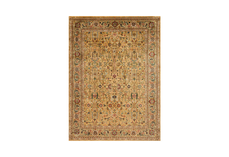 Golden age brilliance sage rug samad rugs treniq 1