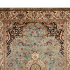 Golden age jewel blue ivory rug samad rugs treniq 2