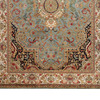 Golden age jewel blue ivory rug samad rugs treniq 3