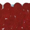 Berry ocean rectangular rug scarlet splendour treniq 2