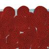 Berry ocean rectangular rug scarlet splendour treniq 3