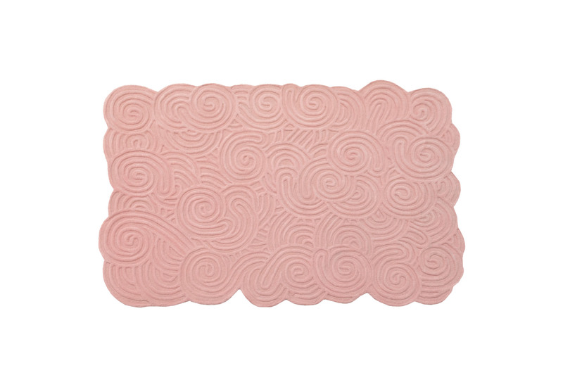 Bloom rectangular rug scarlet splendour treniq 1