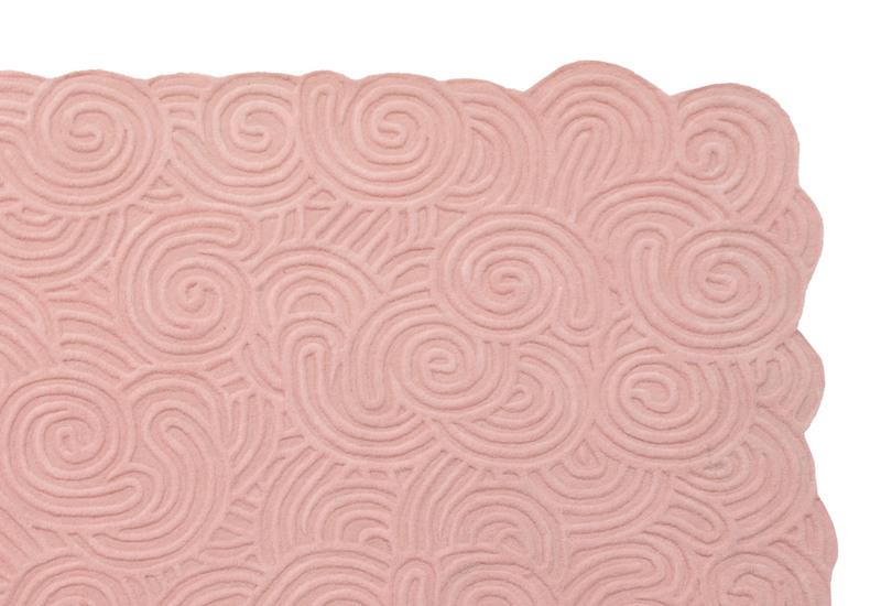 Bloom rectangular rug scarlet splendour treniq 2