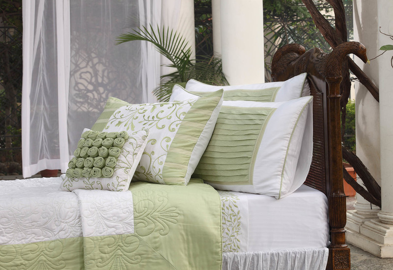 Green grandeur bedding la kairos treniq 3