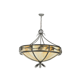 Rustic Lodge Inverted Pendant Lamp II - Smashing - Treniq