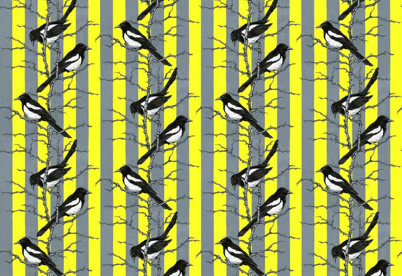 Mr magpie wallpaper lux   bloom treniq 1