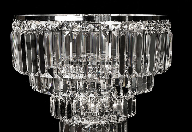 Lorcan round chandelier 2 waterford made chandeliers treniq 2