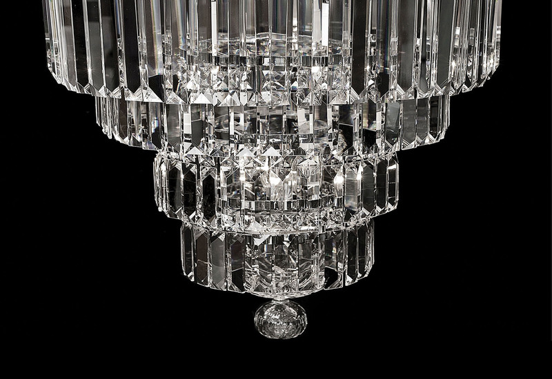 Lorcan round chandelier 2 waterford made chandeliers treniq 3