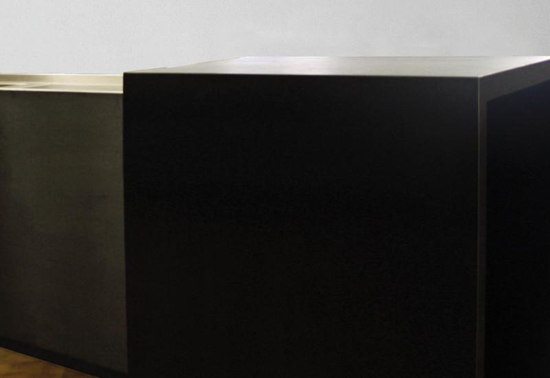 Semplice matt stainless steel black kitchen strato treniq 3