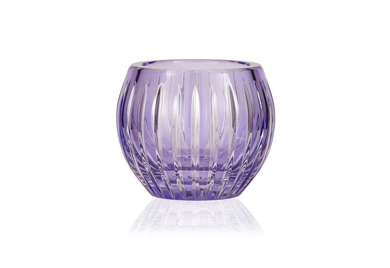 Gurasu shining star lavender crystal tealight candle holder gurasu treniq 1