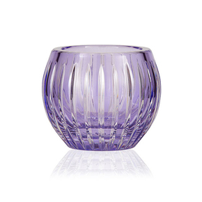 Gurasu Shining Star Lavender Crystal Tealight Candle Holder - Gurasu - Treniq