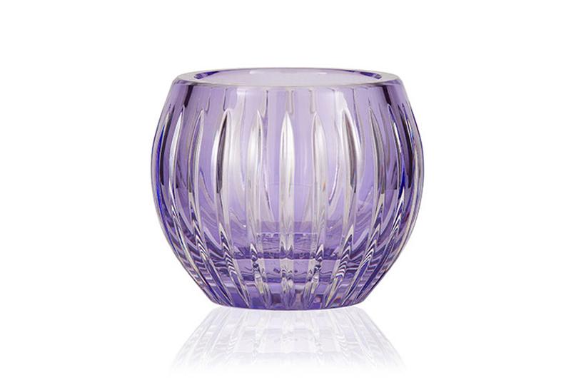 Gurasu shining star lavender crystal tealight candle holder gurasu treniq 2