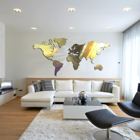 World Map - Carluccio Design - Treniq