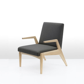 R 1378 Natural Stain Armchair - Politura Design - Treniq