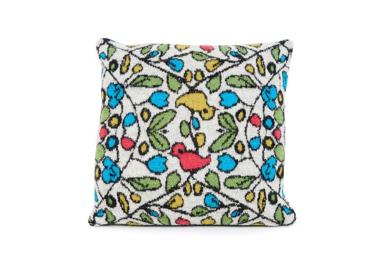 Moineaux cushion loup maison treniq 1