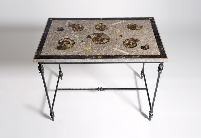 Large ammonite table hurley treniq 1