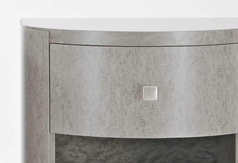 Arc bedside table 2 black and key treniq 2