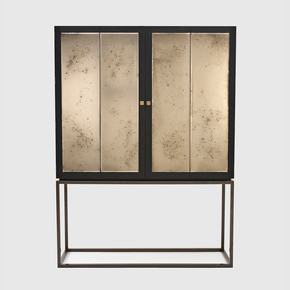 Heston Cabinet - Black and Key - Treniq