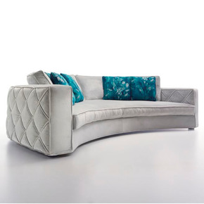 Richmond Curved Sofa - Silvano Zandrin - Treniq