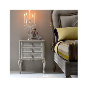 High End Ornate Italian Bedside Cabinet - Jennifer Manners - Treniq