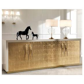Large High End Gold Leaf Sideboard - Jennifer Manners - Treniq