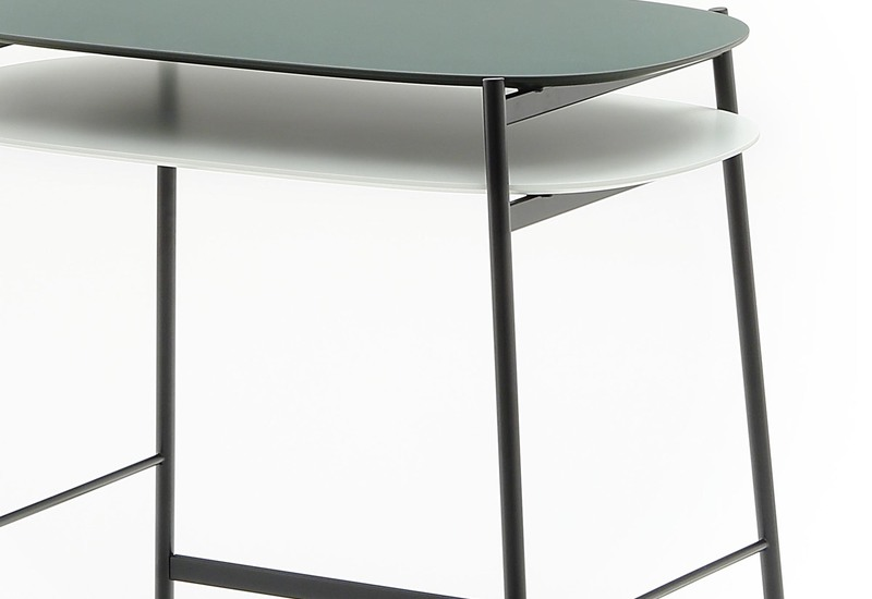 office side table. Shika Office Side Table Coedition Treniq 4 C