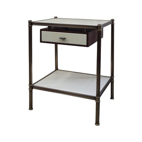 Cole Poter Style Side Table - Victoria & Son - Treniq
