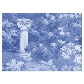 Blue Garden Panel - Mural Sources - Treniq