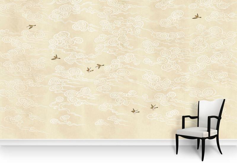 Celeste cream panel mural sources treniq 5
