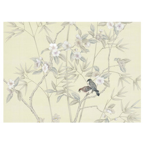Palace Garden Cream Panel - Mural Sources - Treniq