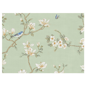 Palazzo Garden Green Panel - Mural Sources - Treniq
