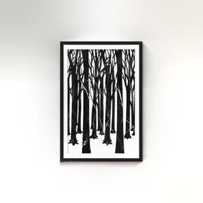 Forest Marble Wallart - Mikol - Treniq