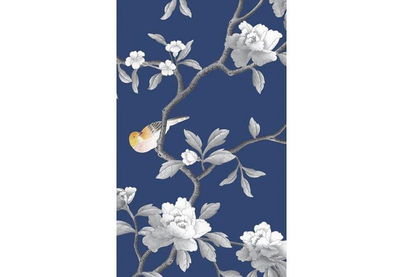 Flower jungle wallpaper david qian treniq 1