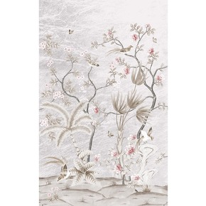 Hearding Spring Pavilion Wallpaper - David Qian - Treniq