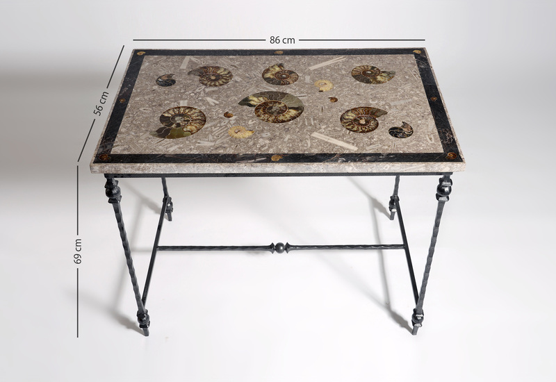 Large ammonite table hurley treniq 5