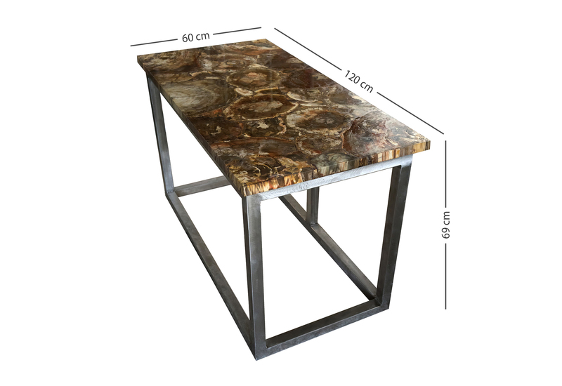 Fossil wood table treniq for Fossil coffee table