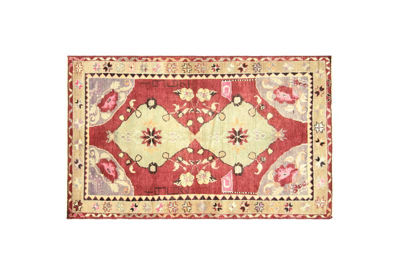 Anatolian oushak rug vintage ii nalbandian treniq 1