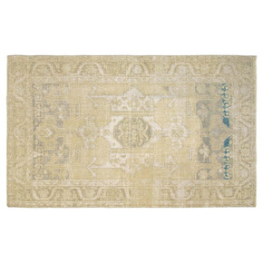 Distressed Vintage Turkish Anatolian Rug - Nalbadian - Treniq