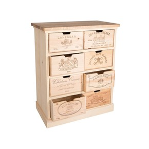Chest of Drawers - Bois Rustique - Treniq