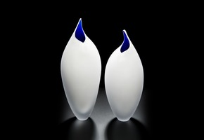 Birds Vase - London Glassblowing - Treniq