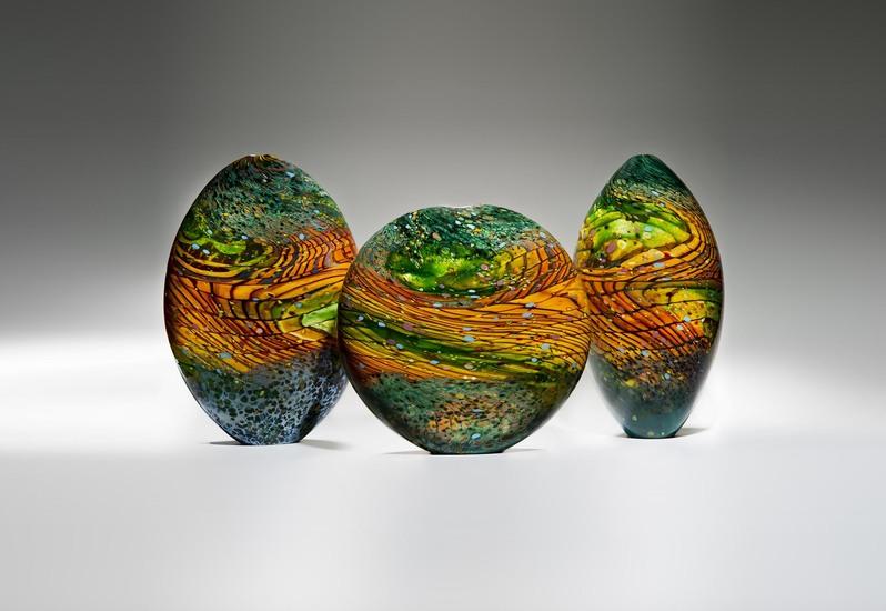 Kilmt landscape sculpture london glassblowing treniq 1