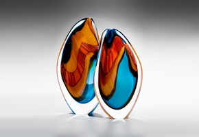 Turquoise Paradiso Sculpture - London Glassblowing - Treniq