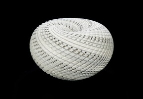 Woven Basket Bowl - London Glassblowing - Treniq