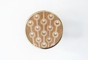 Genesini Inlaid wooden Hooks I - Portego - Treniq