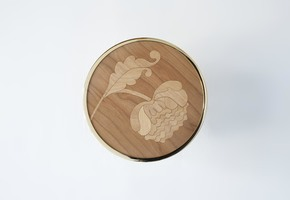 Genesini Inlaid wooden Hooks III - Portego - Treniq
